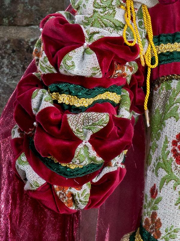 Renaissance Kleid FL 4 Flora, der schöne Vogel mit goldenem Käfig renaissance mode mittelalter barock rokoko kostÃ