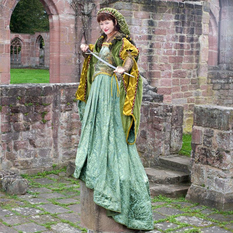 Renaissance Kleidung Frau EL 0 Elsbeth, die ruhmreiche Gewandmacherin renaissance mode mittelalter barock rokoko kostÃ
