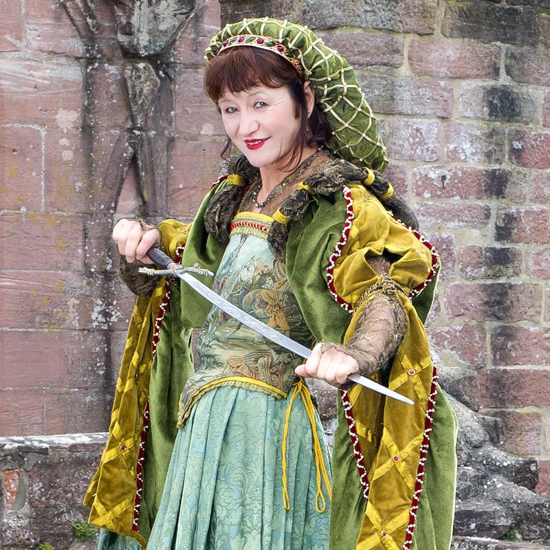 Renaissance Kleidung Frau EL 1 Elsbeth, die ruhmreiche Gewandmacherin renaissance mode mittelalter barock rokoko kostÃ