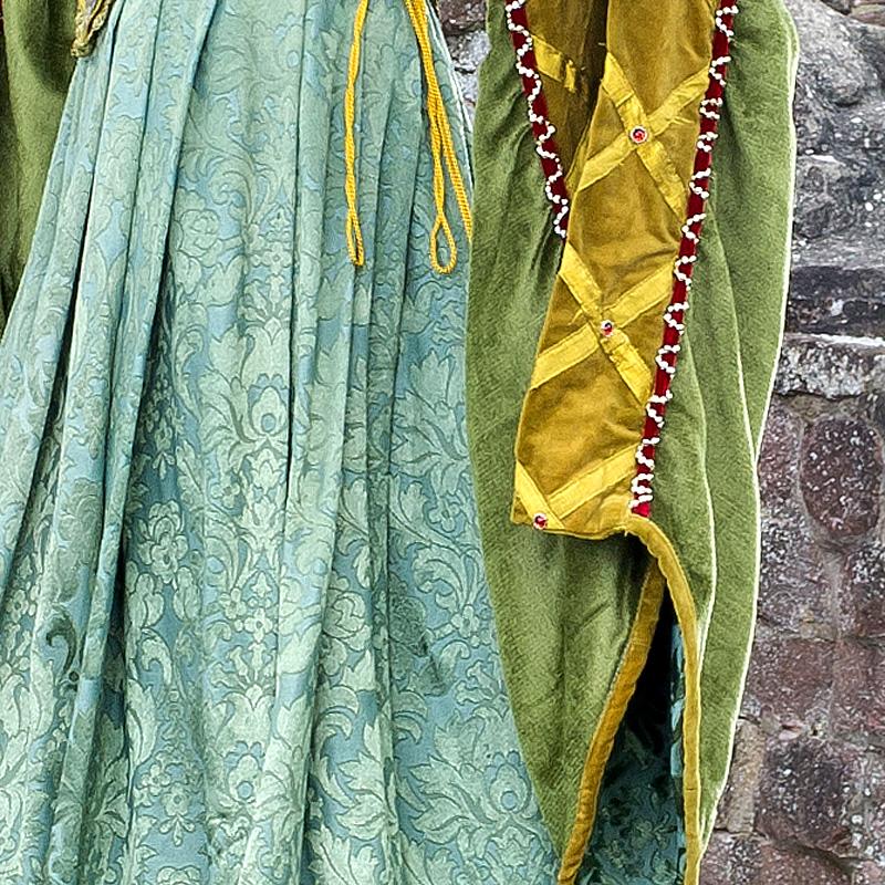 Renaissance Kleidung Frau EL 4 Elsbeth, die ruhmreiche Gewandmacherin renaissance mode mittelalter barock rokoko kostÃ