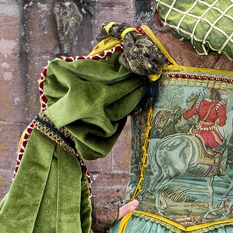 Renaissance Kleidung Frau EL 5 Elsbeth, die ruhmreiche Gewandmacherin renaissance mode mittelalter barock rokoko kostÃ