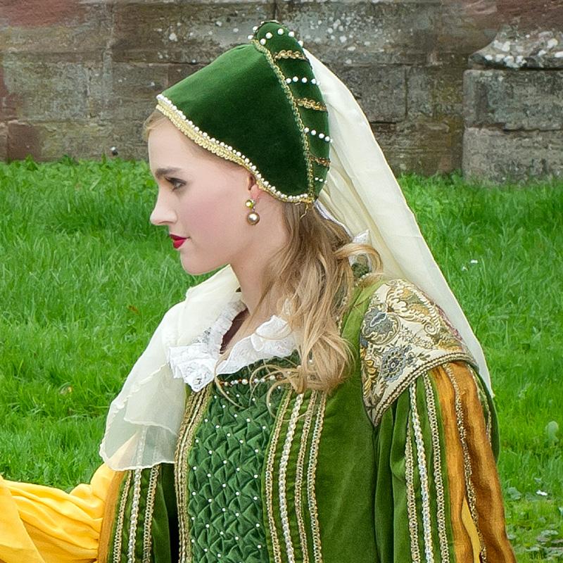 renaissance gewand kleid jacke hose CC 1 Clarice und Cosimo, die feinen Edelleute renaissance mode mittelalter barock rokoko kostÃ