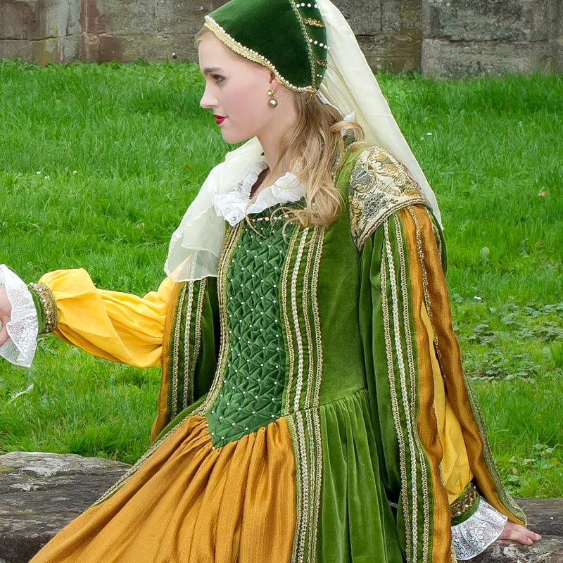 renaissance gewand kleid jacke hose CC 2 Clarice und Cosimo, die feinen Edelleute renaissance mode mittelalter barock rokoko kostÃ